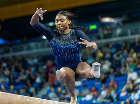 gallery ucla gymnastics finishes strong  season opener