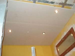 Faux Plafond Pvc : plafond salle de bain pvc 2 faux plafond salle de bain ~ Premium-room.com Idées de Décoration