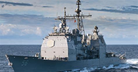 Navy says submarine, Aegis cruiser collide