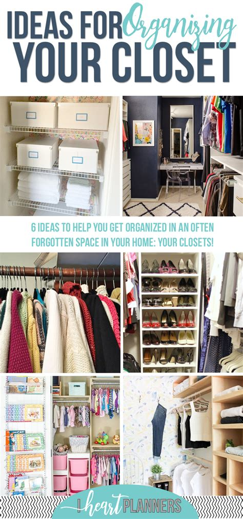 How To Organize Your Closet by How To Organize Your Closet I Planners