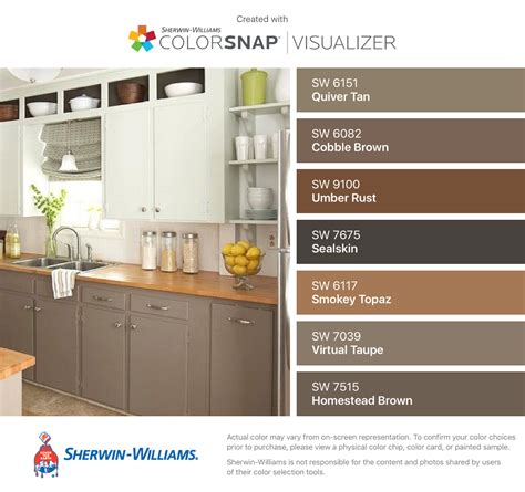 sherwin williams color visualizer kitchen cabinets