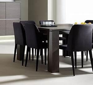 Chaise Salle A Manger Noir : chaise noire salle manger ~ Teatrodelosmanantiales.com Idées de Décoration