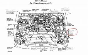 2000 Ford Ranger 2 5  Where Is The Camshaft Position