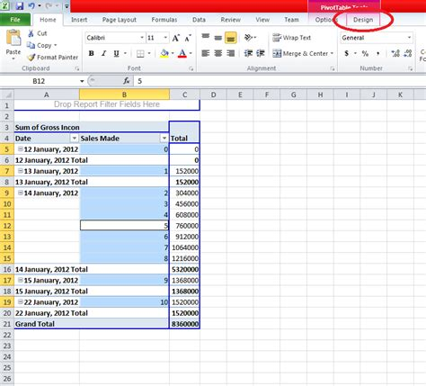 excel spreadsheet pivot table how to expand all rows in excel 2010 add an expand or