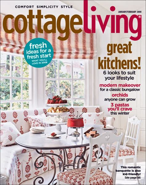 cottage living magazine hybrid cars cottages ode to the present magazine