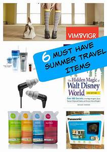 Must Haves Sommer 2015 : 6 summer travel must haves 6 things you need for travel ~ Eleganceandgraceweddings.com Haus und Dekorationen