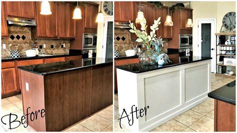 kitchen island makeover home improvements diy kitchen island makeover