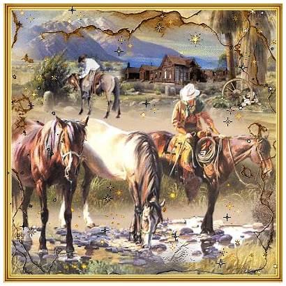 Western Cowboys Blingee Fantasy Anime