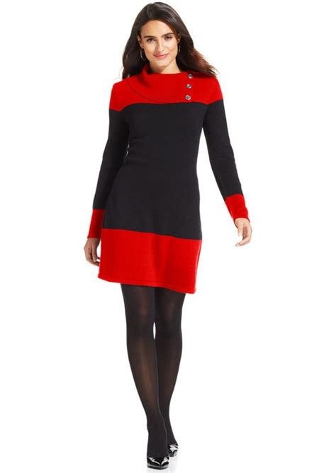 style and co sweaters style co style co colorblock ribbed knit sweater