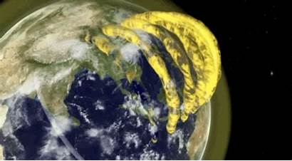 Plasma Earth Atmosphere Tubes Above Confirmed Exist