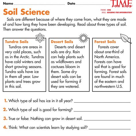 soil worksheets for 2nd grade worksheets for all