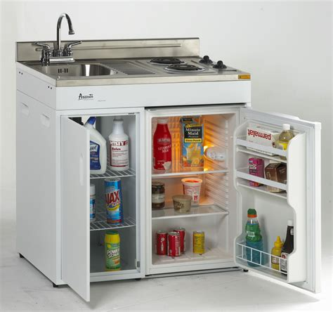 sink and stove combo compact kitchen with stove refrigerator and sink