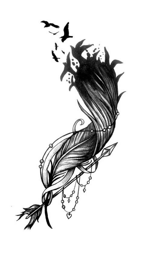 Symbolic effect of feathers | Tats | Tattoo bedeutungen, Tattoo ideen, Feder tattoo