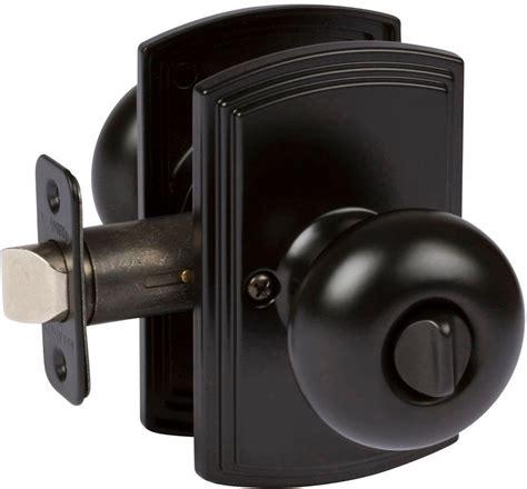 bedroom door knobs bed bath bedroom bathroom locking santo black door knob