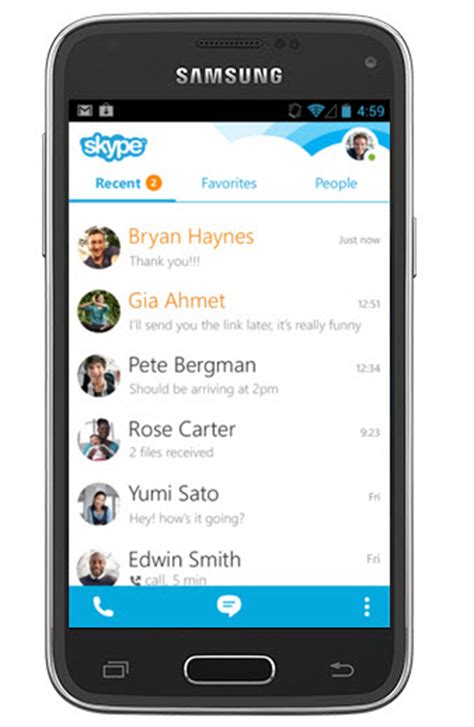 free skype software for samsung mobile make skype voice calls on samsung