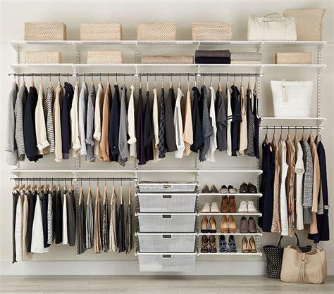 elfa closet system dandk organizer