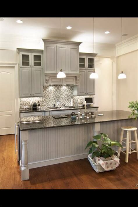 beadboard color grey kitchen cabinets kitchen cabinets