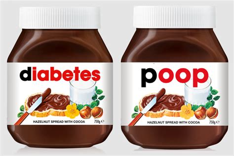 Did you know that nutella made in italy tastes different from the nutella made around the world? Print Your Own Nutella Label / How To Make Your Own Nutella Eating Rules : This year therell be ...