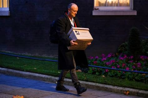 Dominic Cummings leaves Downing street 'for good' with ...
