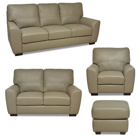 beige leather sofa and loveseat 4 macie collection light beige leather 100