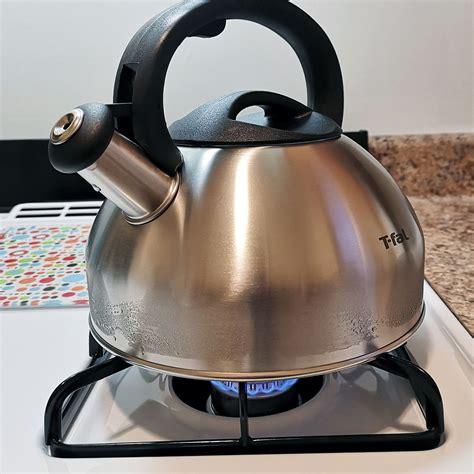tea kettle kettles fal stainless steel upscale quart coffee hard
