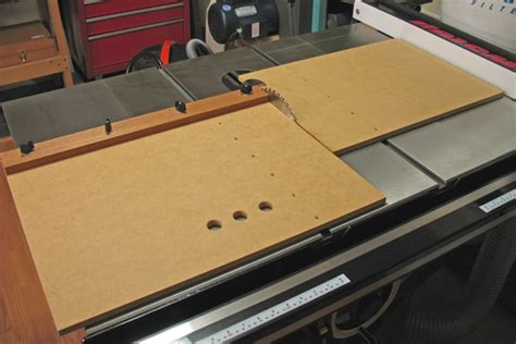 easy table  crosscut sled finewoodworking