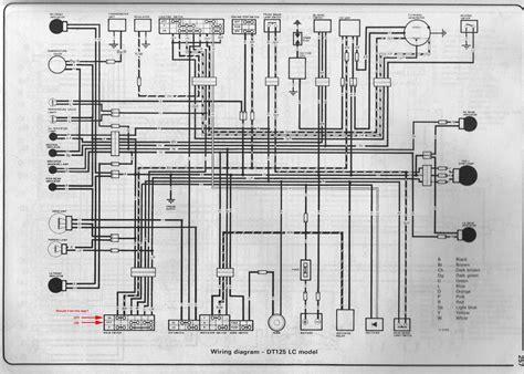 Yamaha Dt 100 Wiring Diagram by Schematy I Instrukcje Napraw Motorower 243 W Motocykli