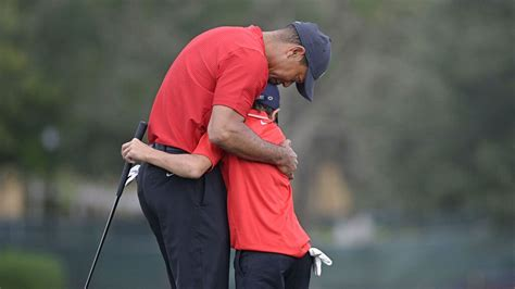 Tiger Woods, son Charlie end up 7th in PNC Championship