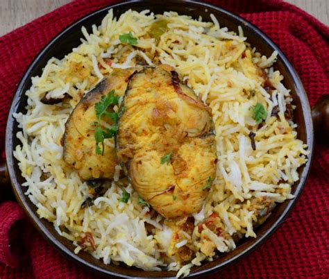 how to fish biryani recipe ingredients methods