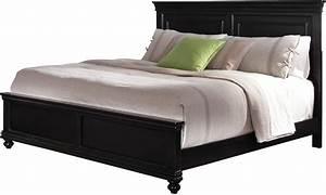 Bridgeport Queen Bed – Black The Brick