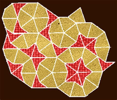 penrose tiling and phi the golden ratio phi 1 618
