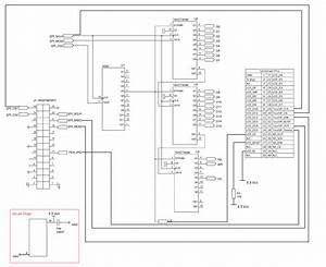 The Wiring Diagram S  For The Spi Interface Circuit In The