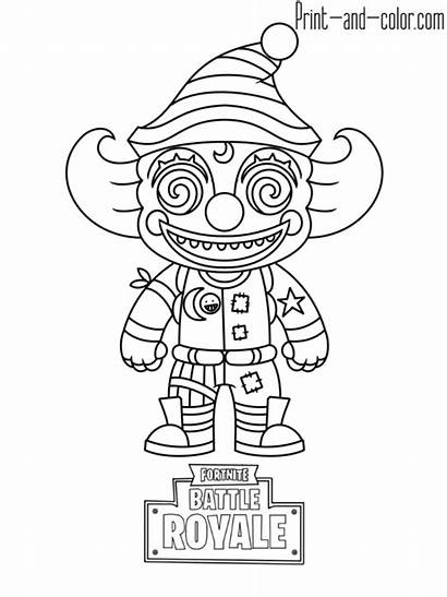 Fortnite Coloring Pages Colouring Printable Sheets Character