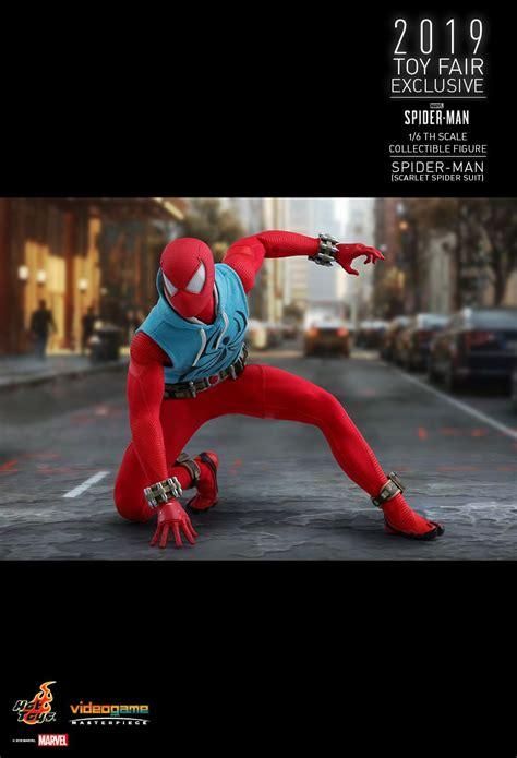 hot toys marvels spider man spider man scarlet