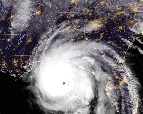 maps show   hard hurricane michael  hit