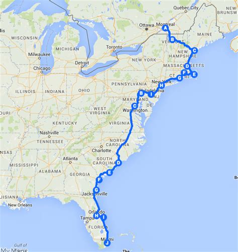 east coast road trip stops the best ever east coast road trip itinerary