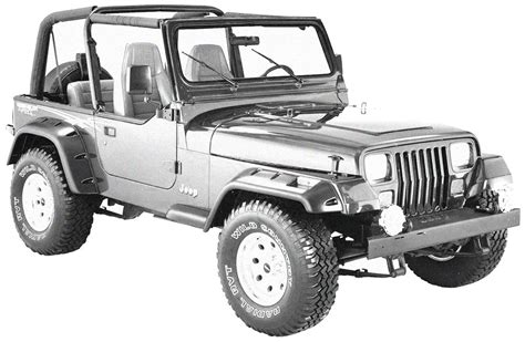 1987-1995 Jeep Wrangler Yj Replacement Parts