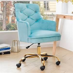 ovios, cute, desk, chair, plush, velvet, office, chair, for, girl, or, lady, modern, comfortble, nice, vanity