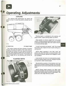 John Deere Planter Operators Manual