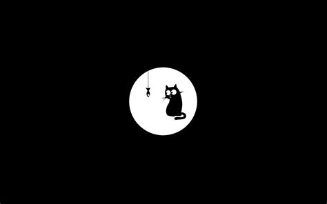Lift your spirits with funny jokes, trending memes, entertaining gifs, inspiring stories, viral videos, and so much more. minimalistic, Monochrome, Black, Background, Cats, drawn Wallpapers HD / Desktop and Mobile ...