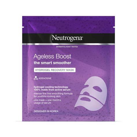 Ageless Boost Hydrogel Recovery Mask 30ml   Neutrogena®