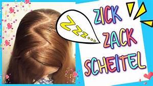 Coole Mädchen Frisuren : zick zack scheitel so geht s coole m dchen z pfe frisuren youtube ~ Udekor.club Haus und Dekorationen