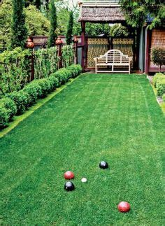 Backyard Bocce Court Dimensions by Lights Add A Touch Of Ambience Bocce Court