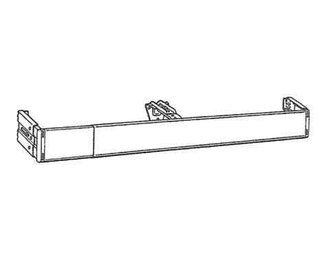 kirsch 48 86 inch continental i curtain rod at designer
