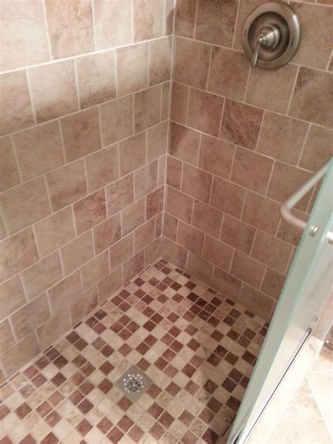 mesa beige tiles traditional bathroom detroit by