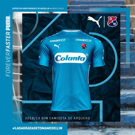 Novas camisas do Independiente Medellín 2018-2019 PUMA ...