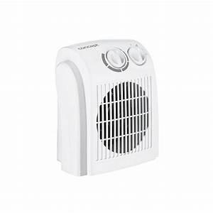 Teplovzdušný ventilátor do koupelny