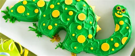 dinosaur cake recipe  betty crocker