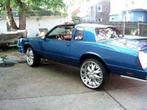1987 monte carlo ss on 24 inch rims youtube