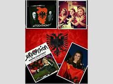 Serbia v Albania football match Albanian Eurovision stars